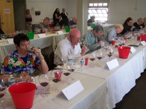 Judges select the best of the best at the Pinot Noir Shootout finals
