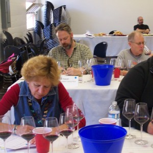 Laura Ness, Fred Swan and Steve Heimoff: Cabernet Shootout Finals