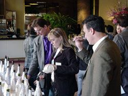 Blind Tasting Wine Reception